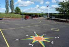 Stoke Prior primary school what a great location