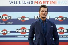 David Gandy Photos Photos - Male supermodel and car enthusiast David Gandy attends the VIP opening of Terrazza Martini Darsena on September 1, 2016 in Milan, Italy. - Martini Activity at the Italian Grand Prix