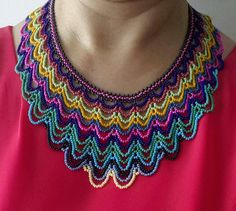 Collar chaquiras checas
