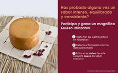 Gana un delicioso queso Idiazábal