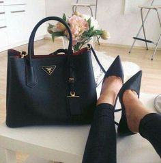 Perfect shoe and bag combo