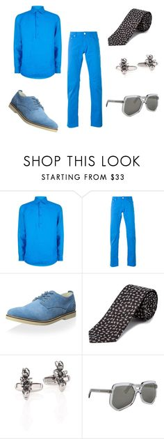 """""""A Bug's Life: Flik"""" by smmashley ❤ liked on Polyvore featuring Orlebar Brown, PT01 Pantaloni Torino, Pointer, Paul Smith, Grey Ant, men's fashion and menswear"""