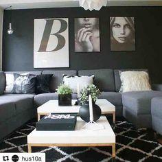 Her er en å følge om dere trenger inspirasjon til hjemmet! Fantastisk stil  @hus10a #Repost @hus10a with @repostapp  Mens vi venter på sommeren.....#vitacopenhagen #silvia #viamartine #ikea #bohus #dempetsort #jotex #menu #boligplussminstil #boligpluss #nordic #monochrome #blackandwhite