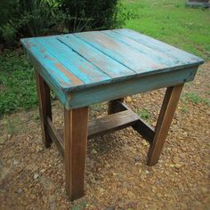 Best Reclaimed Wood Side Table Products on Wanelo