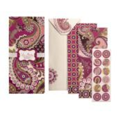 Note Card Folio in Very Berry Paisley. Very cute. Could use it to write notes on for Caleb Ministries