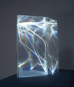 Carlo Bernardini - Light Catalyst, 2002 - Model, plexiglass and optical fibers mm of diameter) - Feet h Light Art, Composition Photo, Interaktives Design, Instalation Art, Deco Luminaire, Art Plastique, Light And Shadow, Plexus Products, Sculpture Art