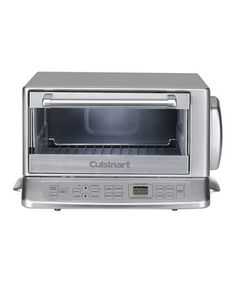"""Ours is really old! I saw one w/a rotisserie attachment, I wonder if that works w/this model. Love it's larger size & """"exact heat"""" claim. I've never been able to really bake or cook anything unprocessed in a toaster over, only reheat, toast, or """"make"""" frozen precooked items. This seems pretty awesome!  Be the toast of the town with this spacious toaster. This versatile appliance features four cooking options and a stylish stainless steel finish. Electronic touchpad controls offer ease of use…"""