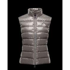 grey moncler body warmer