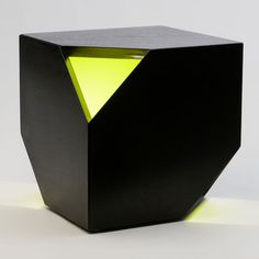 Nugget Hollow Carbon Acid Green by HUXHUX Design