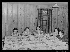 Quilting dans les dernières années de la Grande Dépression (18 Photos) - Old Photo Archive