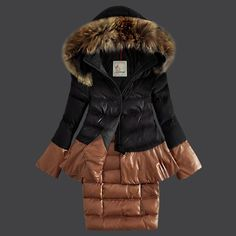 Cheap Moncler Women Down Coat Black Outlet M1063 Sale From Online Store Oh to be skinny again... sigh