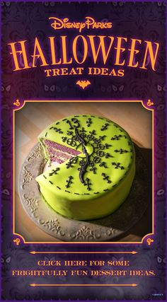 Share your frightfully fun Disney Parks-inspired Halloween photos and you could… Halloween Drinks, Halloween Photos, Disney Halloween, Halloween Treats, Halloween Party, Holiday Treats, Holiday Fun, Holiday Recipes, Disney Inspired Food