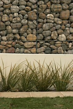 Gabion walls. - This is the retaining wall I want around the front porch, the firepit and along the garage on the far west wall by the 5th wheel.