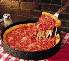 Gino's East Chicago Deep Dish.