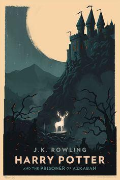 O artista Olly Moss se uniu ao site Pottermore para desenhar as capas dos audiobooks alemães da série