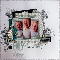 My Creative Scrapbook January Main kit created by Lydell Quin.