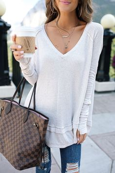 Free People laguna thermal top for fall