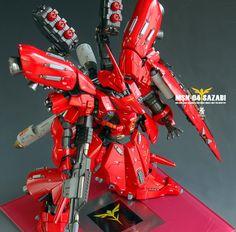 HGUC 1/144 Sazabi Custom Build   Gundam Kits Collection News and Reviews