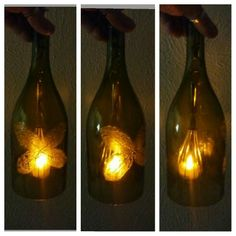 Leaf skeleton wine light...