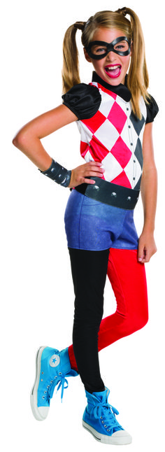 Harley Quinn DC Comics Superhero Girls Fancy Dress Up Halloween Child Costume Halloween Party Kostüm, Harley Quinn Halloween Costume, Halloween Costumes For Girls, Halloween Fancy Dress, Girl Costumes, Halloween Kids, Villain Costumes, Superhero Halloween, Halloween Season