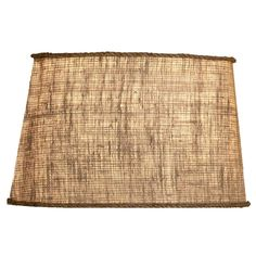 18 Burlap Oval Shade - Shades of Light