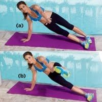 Side Plank with Alternating Leg Raise