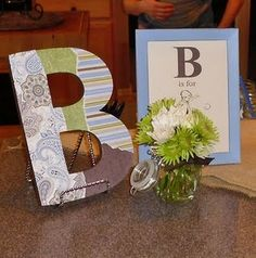 B is for Boy Baby Shower