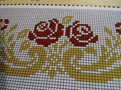 This Pin was discovered by Esr Cross Stitch Borders, Cross Stitch Patterns, Pinterest Cross Stitch, Embroidery Stitches, Hand Embroidery, Bargello, Pusheen, Plastic Canvas, Blackwork