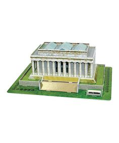 Another great find on #zulily! Lincoln Memorial 3-D Puzzle #zulilyfinds