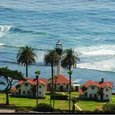 New Point Loma Lighthouse, San Diego, CA (Coast Guard officer housing)