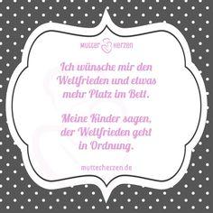 Mehr lustige Sprüche auf: www.mutterherzen.de  #bett #platz #kampf #weltfrieden #kind #kinder #eltern #schlafzimmer #zimmer #mutter