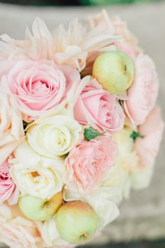 Courtney Stockton photography Kari Young Floral Designs dahlias, roses and apples