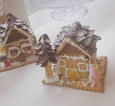 Μπισκοτένια Χριστουγεννιάτικα σπιτάκια Gingerbread, Christmas Recipes, Blog, Ginger Beard, Blogging