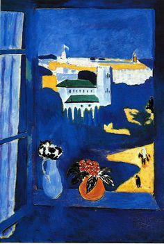 Landscape viewed from a Window, 1913 / Henri Matisse