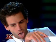 Mika licking - X Factor
