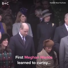 Meghan Markle is curtsying her way to royalty! Meghan Markle Video, Ettiquette For A Lady, Royal Video, Prince Harry Et Meghan, Summer Family Pictures, Etiquette And Manners, Kate And Meghan, Hm The Queen, Family Picture Outfits