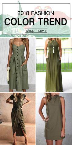 $9.99 + From 2018 Fashion Trends Chicnico Casual Short Sleeve Front Split Maxi Dress Bodycon Midi Long Dress