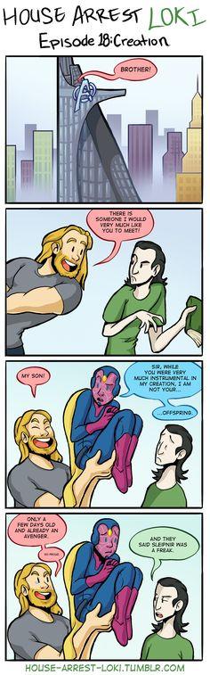 House Arrest Loki 18 by SMachajewski | That's so stupid but so funny! ;)