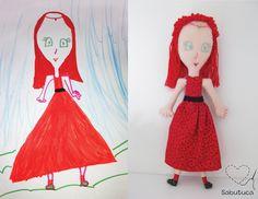 Sabutuca ♥: bonecos imaginados: encomenda do Papai Noel