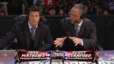 @scottstanford1 welcoming back Mathews after his first attack from Kane. What will happen next week? 8/30/12
