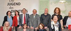 Gruppenbild des Bücherfestteams bei der Pressekonferenz am 16.04.2015