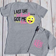 Monogrammed Teacher Shirt  Teacher Appreciation Gift