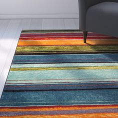 Found it at AllModern - Las Cazuela Multi-color Area Rug