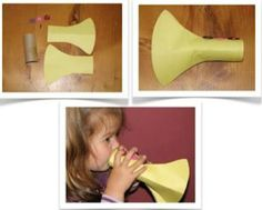 Trumpets for Jericho bible lesson