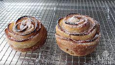 Dit kan echt iedereen maken: deze fantastische appelroosjes! Donuts, High Tea, Muffin, Snacks, Breakfast, Cake, Desserts, Apple Roses, Apple Cinnamon