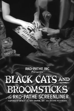 #1312. Black Cats and Broomsticks, October, 2017. Superstitions are examined in the context of mid-20th century America. Walking under ladders, spilt salt, stepping on cracks, haunted houses, voodoo dolls, and such are used to illustrate the widespread belief in the supernatural.
