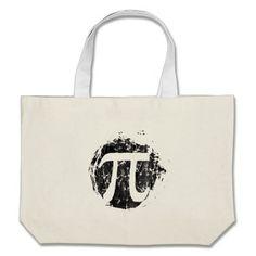 Grunge PI Canvas Bag
