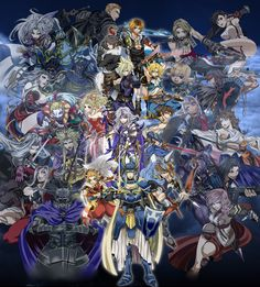 Image 33352: artist_アス blm cecil cloud cloud_of_darkness crossover dissidia elvaanf emporer exdeath ff ff10 ff12 ff13 ff2 ff3 ff4 ff5 ff6 ff...