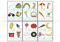 Syllable clip cards | Top Teacher - Innovative and creative early childhood curriculum resources for your classroom