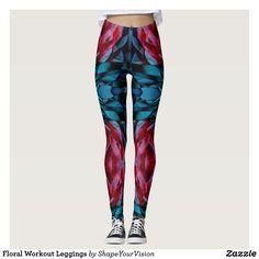 Floral Workout Leggings